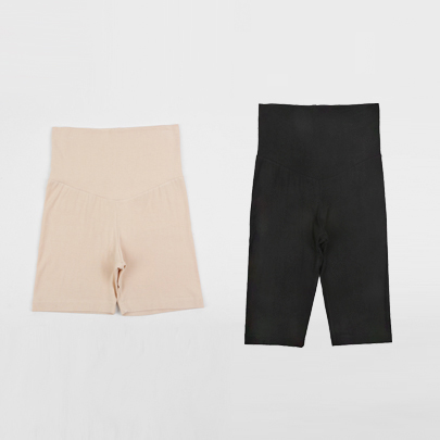 Elastic High Waist Slipshorts