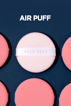 VELY VELY Aura Glow Cushion Air Puff [5ea]