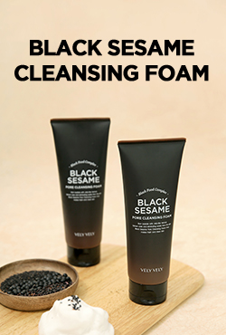 VELY VELY Black Sesame Pore Cleansing Foam