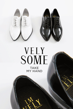 [VELYSOME] No,18 Pointed Toe Leather Oxford Shoes