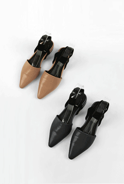 Pointed Toe Ankle Strap Shoes