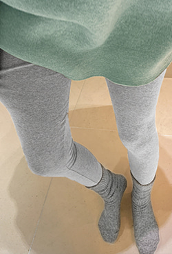 Solid Tone Cotton Leggings