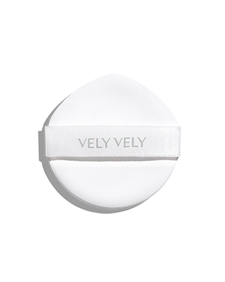 VELY VELY Dermagood Green Cushion Puff (2 Count)